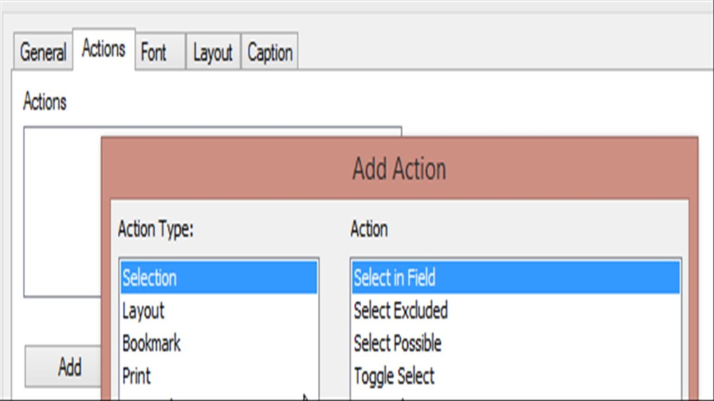 Qlikview Select in Field