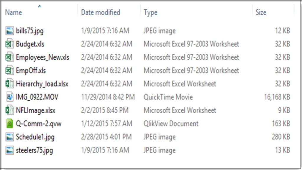Excel VBA - List Files in Folder