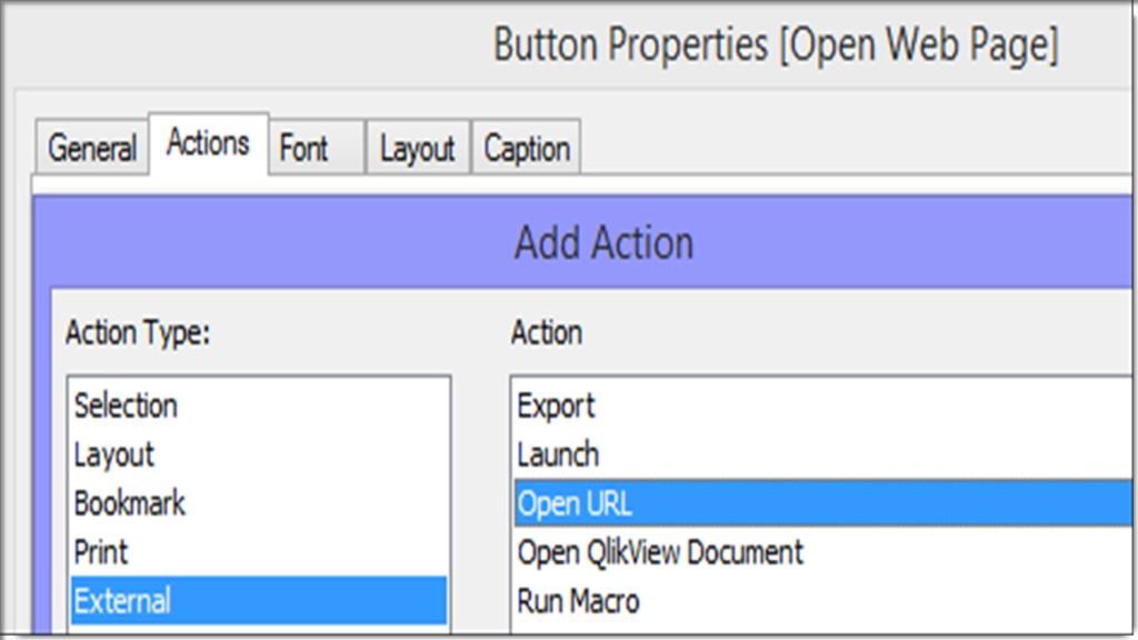 Qlikview Open URL