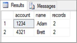 SQL HAVING