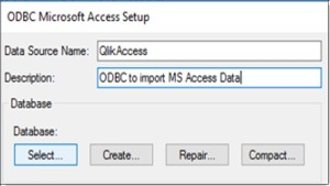 Qlikview Import Microsoft Access Data