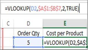 Excel VLOOKUP - Approximate Match