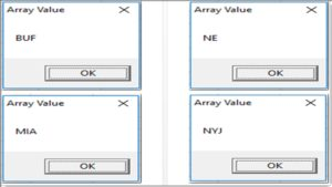 Excel VBA - Copy Range into Array - BuffaloBI com