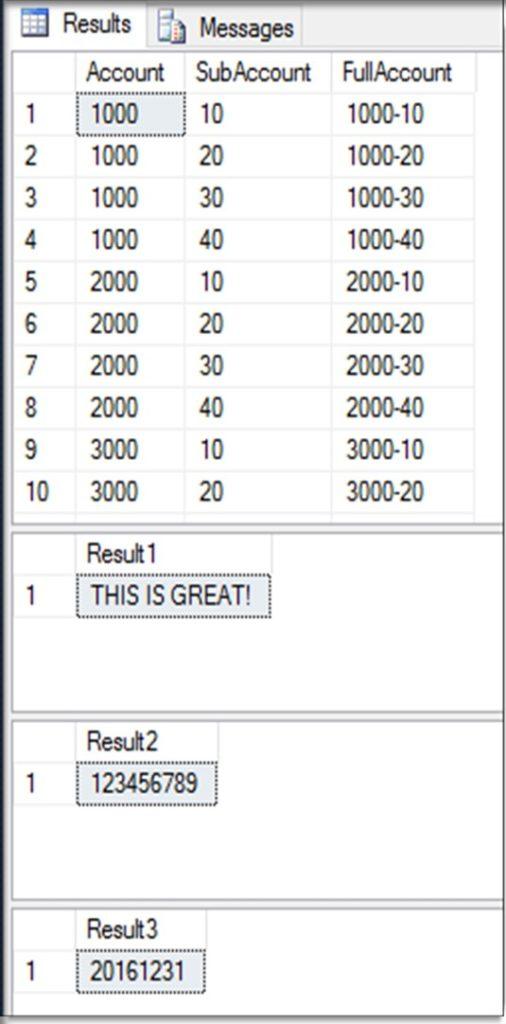 SQL CONCAT