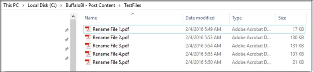 Excel VBA Rename Files