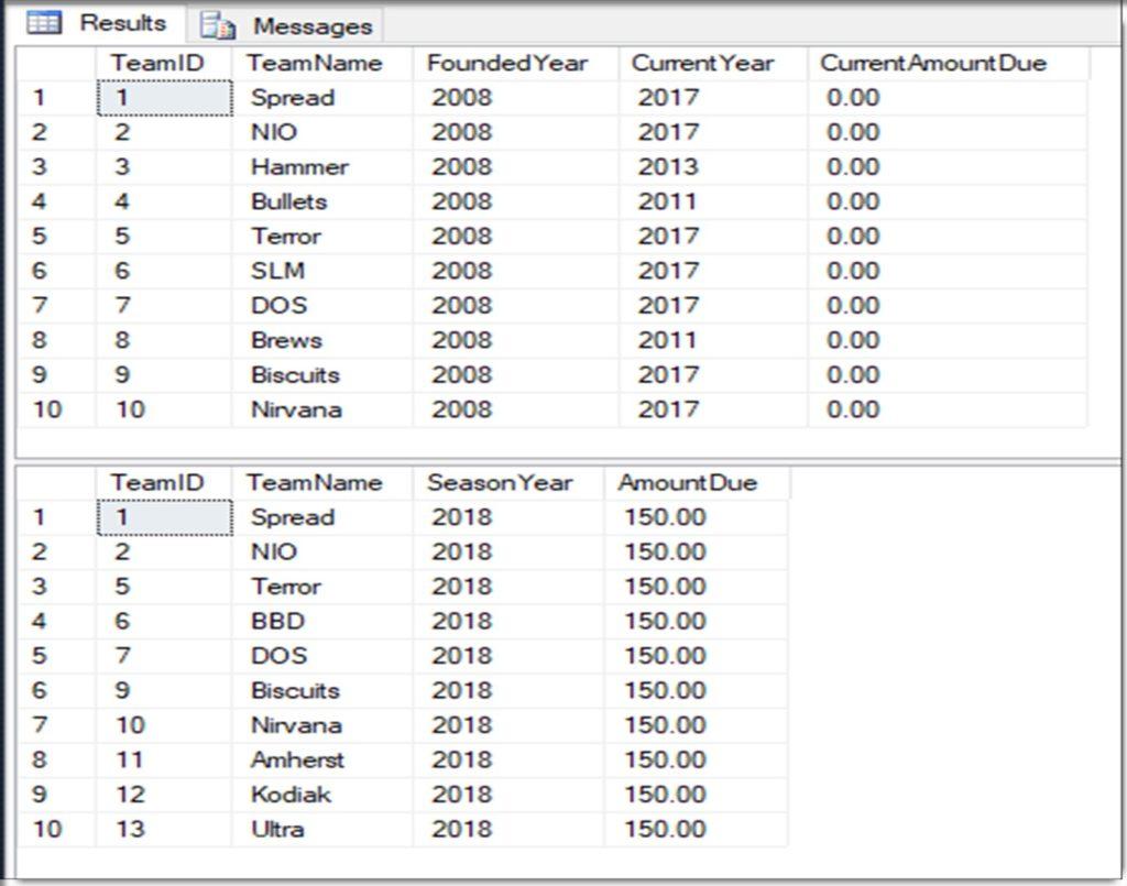 SQL MERGE