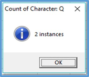Excel VBA Count Character in Range