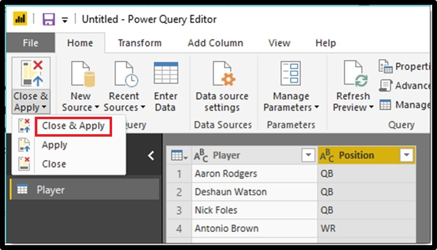 Power BI Split Column By Delimiter